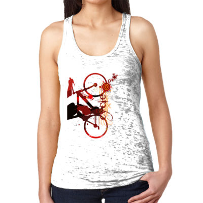 Cycling - Ladies' Burnout Racerback Tank Thumbnail