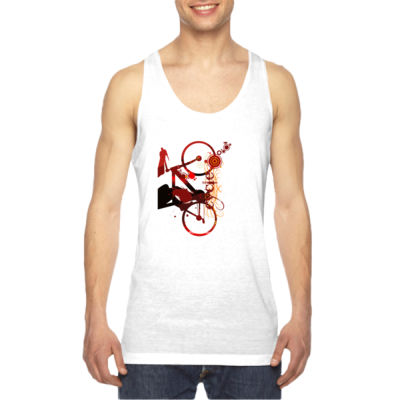 Cycling - American Apparel Unisex Sublimation Tank Thumbnail