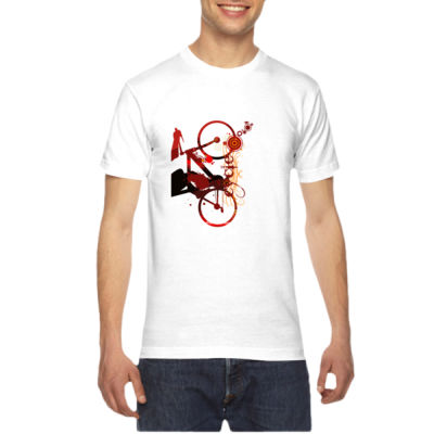 Cycling - American Apparel Unisex T-Shirt Thumbnail
