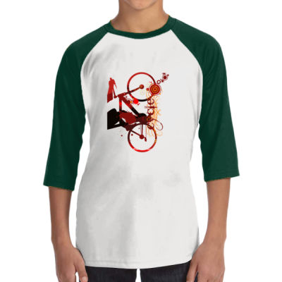Cycling - ALO 100% Performance Youth Baseball T-Shirt Thumbnail