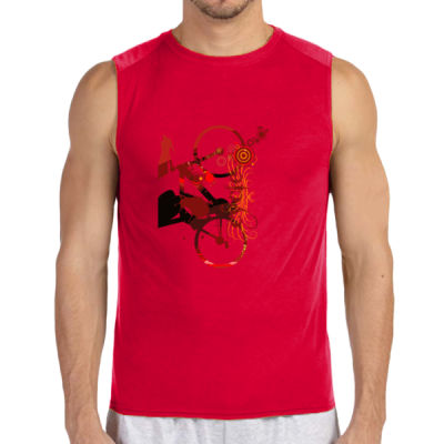 Cycling - (S) Performance™ 4.5 oz. Sleeveless Light Color T-Shirt Thumbnail