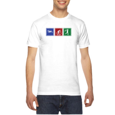 Signs of Tri - American Apparel Unisex T-Shirt Thumbnail