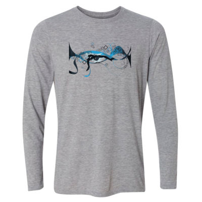 Making Waves Swimming - Light Long Sleeve Ultra Performance Active Lifestyle T Shirt Thumbnail