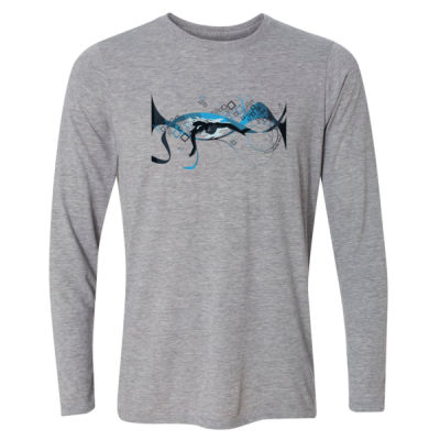 Making Waves Swimming - Light Youth Long Sleeve Ultra Performance Active Lifestyle T Shirt Thumbnail