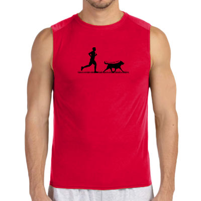 The Pacer - (S) Performance™ 4.5 oz. Sleeveless Light Color T-Shirt Thumbnail
