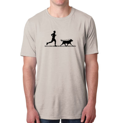 The Pacer - Men's Poly/Cotton Short-Sleeve Crew Tee Thumbnail