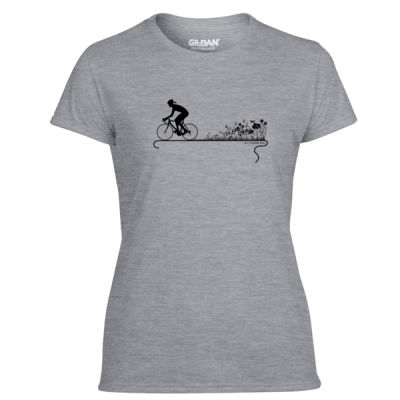 Nature Ride - Light Ladies Ultra Performance Active Lifestyle T Shirt Thumbnail