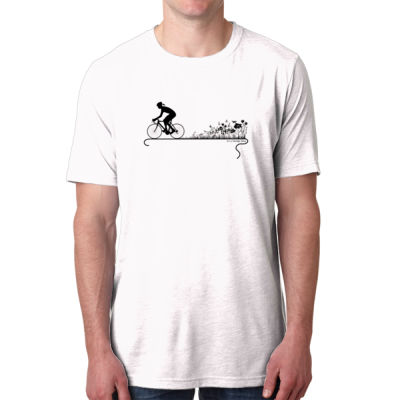 Nature Ride - Men's Poly/Cotton Short-Sleeve Crew Tee Thumbnail