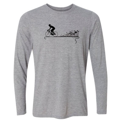 Nature Ride - Light Long Sleeve Ultra Performance Active Lifestyle T Shirt Thumbnail