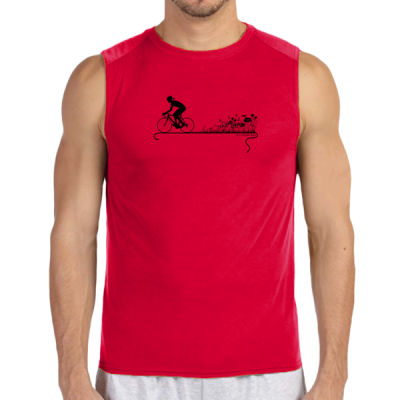Nature Ride - (S) Performance™ 4.5 oz. Sleeveless Light Color T-Shirt Thumbnail