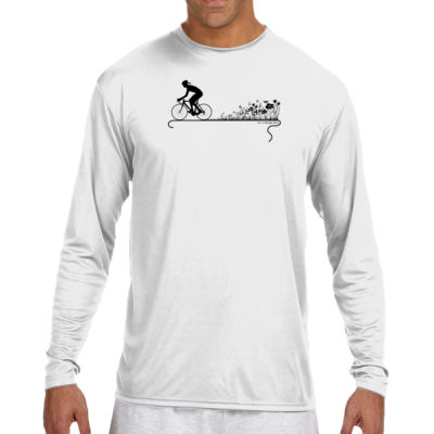 Nature Ride - (S) Long Sleeve Cooling Performance Crew Light Color Shirt Thumbnail