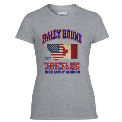 Vick Family Reunion - Light Ladies Ultra Performance Active Lifestyle T Shirt Thumbnail