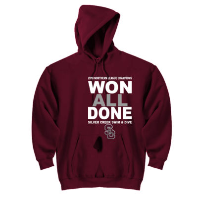 2018 NL Champions - DryBlend™ Pullover Unisex Hooded Sweatshirt Thumbnail