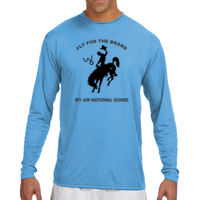 WY Air National Guard  - (S) Long Sleeve Cooling Performance Crew Light Color Shirt Thumbnail
