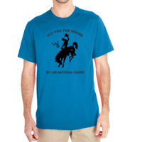 WY Air National Guard  - (S) Unisex Tech Short-Sleeve Light Color T-Shirt Thumbnail