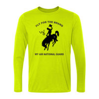 WY Air National Guard  - Light Long Sleeve Ultra Performance Active Lifestyle T Shirt Thumbnail