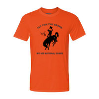 WY Air National Guard  - Light Youth/Adult Ultra Performance Active Lifestyle T Shirt Thumbnail