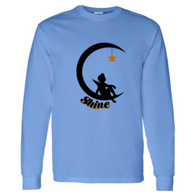 Childhood Cancer Awareness - Heavy Cotton Long Sleeve T-Shirt - Heavy Cotton Long Sleeve T-Shirt 2 Thumbnail