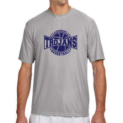 LHS Basketball - (S) Shorts Sleeve Cooling Performance Crew Light Color Shirt Thumbnail