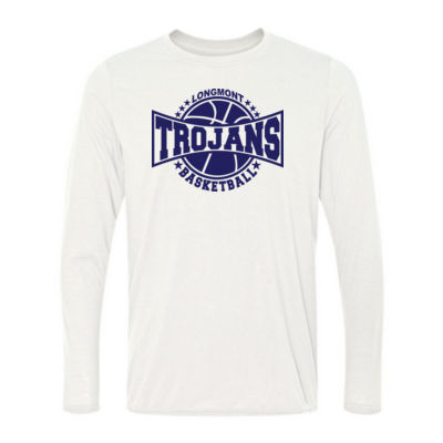 LHS Basketball - Light Long Sleeve Ultra Performance Active Lifestyle T Shirt Thumbnail