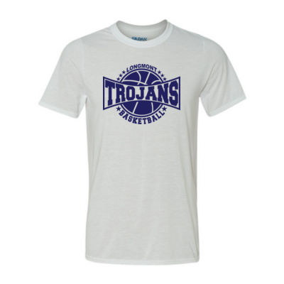 LHS Basketball - Light Youth/Adult Ultra Performance Active Lifestyle T Shirt Thumbnail