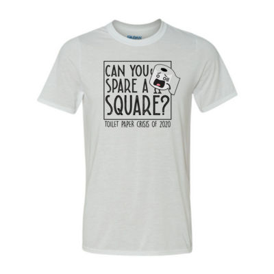 Can  you spare a square - TP Crisis 2020 - Light Youth/Adult Ultra Performance Active Lifestyle T Shirt Thumbnail
