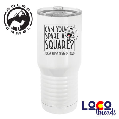 Can  you spare a square - TP Crisis 2020 - Polar Camel 20 oz. Tall Stainless Steel Vacuum Insulated Tumbler Thumbnail