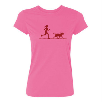 The Pacer - Light Ladies Ultra Performance Active Lifestyle T Shirt Thumbnail