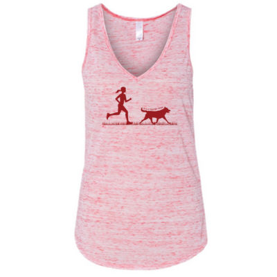 The Pacer - Ladies' Flowy V-Neck Tank Thumbnail