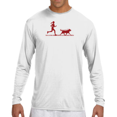 The Pacer - (S) Long Sleeve Cooling Performance Crew Light Color Shirt Thumbnail