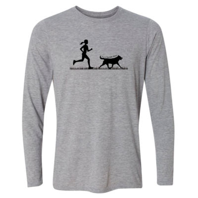 The Pacer - Light Long Sleeve Ultra Performance Active Lifestyle T Shirt Thumbnail