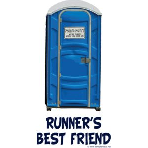 porta potty runner s best friend Thumbnail