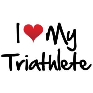 I Heart My Triathlete Triathlon Thumbnail