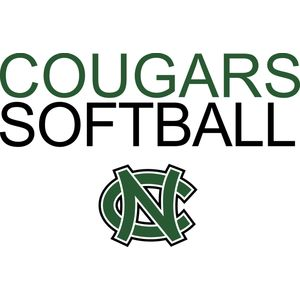 Cougars Softball with NC logo   DN Thumbnail