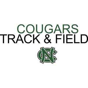 Cougars TRACK   FIELD with NC logo   DN Thumbnail