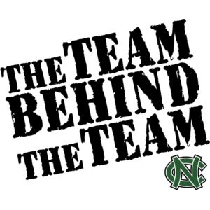 Niwot Team Behind The Team - Great for the back of Parents, Friends and Family t-shirts Thumbnail